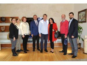 Karia Rotary'den Başkan Kocadon'a Ziyaret