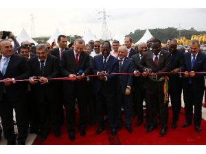 Cumhurbaşkanı Erdoğan, Fildişi Sahili'nde Beton Fabrikası'nın Açılışını Yaptı