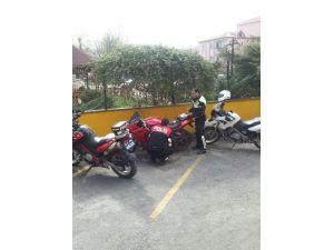 'Dur' İhtarına Uymayan Sürücünün Motosikleti Çalıntı Çıktı