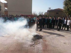 Beyşehir Ve Derebucak'ta Yangın Tatbikatı