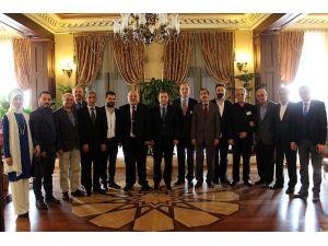 Antalya Konyalılar Derneği Yeni Yönetiminden Ziyaret
