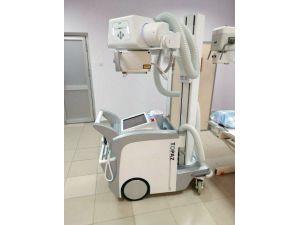 Devlet Hastanesi'ne Mobil Röntgen Cihazı