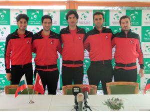 Türkiye-Bulgaristan Davis Cup'ta kapışacak