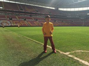 Galatasaray'dan Minik Yusuf'a Destek