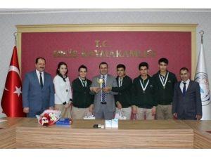 Erciş Fen Lisesi Türkiye Birincisi Oldu