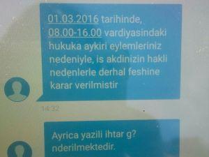 Renault'ta işçiler SMS ile çıkarılıyor