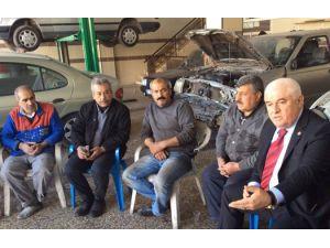 Gaziantep esnafının bitmeyen borcu Meclis gündeminde