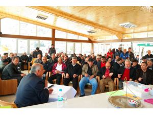 Özvatan Belediye Başkanı Demir, halkı dinledi