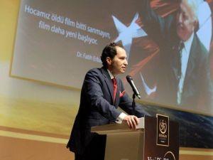 Vefatının 5. Yılında 'Yeni Bir Dünya Erbakan' Anma Ve Anlama Programı