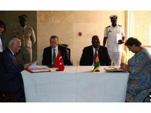 Türkiye ve Gana arasında anlaşmalar imzalandı