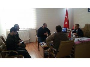 Bayır Bucak Türkmen Dağı Kültür Ve Yardımlaşma Derneği'nden ESDER'e Ziyaret