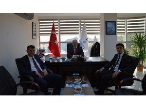 Süleymanpaşa Kaymakamı Ahmet Atılkan, Teski Genel Müdürü Başa'yı Ziyaret Etti