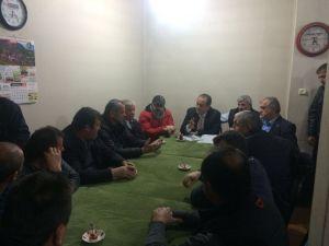 CHP'li heyet, mahalleliyi dinledi, sorunları meclise taşıyacak