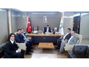 Genç TÜMSİAD'dan Başkan Rıdvan Fadıloğlu'nu Ziyaret