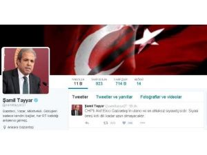Şamil Tayyar'dan CHP'li Akif Ekiciye Tepki