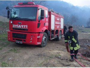 Alaşehir'deki Orman Yangını Kontrol Altına Alındı