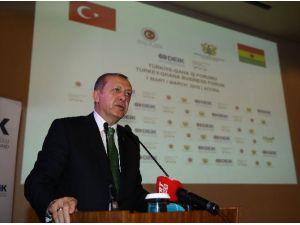 """Cumhurbaşkanı Erdoğan: """"İBB'den Akra Belediyesine 30 Otobüs Hibe Edilecek"""""""