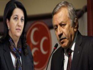"""Meclis'te, HDP İle MHP'nin """"80 PKK'lı"""" Tartışması"""