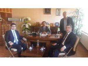 Avanos Kaymakamı Eldivan, Kalaba Belediye Başkanı Köroğlu'nu Ziyaret Etti