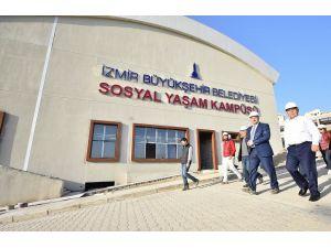 Türkiye'nin en büyük sosyal yaşam kampüsü İzmir'de yapılıyor
