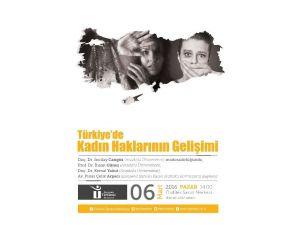 """Tepebaşı'nda """"Türkiye'deki Kadın Haklarının Gelişimi"""" Konuşulacak"""