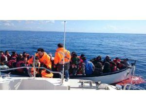 Aydın'da 49 Suriyeli Kaçak Yakalandı