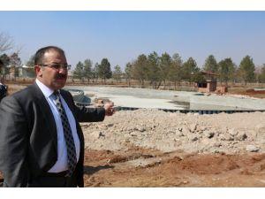 Rabia Parkı Çalışmaları Devam Ediyor