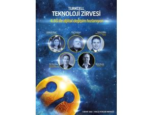 Turkcell Teknoloji Zirvesi'nde 'Gelecek' Ve 'Değişim' Konuşacak