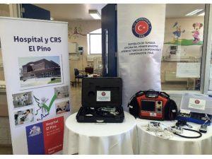 Şili'de El Pino Hastanesi Çocuk Bölümüne Tıbbi Ekipman Desteği