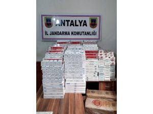 Alanya'da Kaçak Sigara Operasyonu