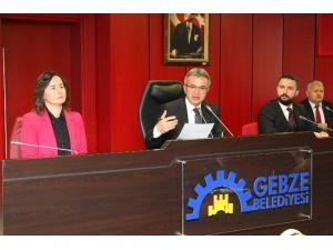 Gebze'de Mart Meclisi Toplandı