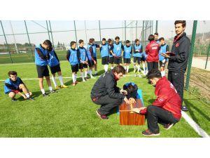 TFF Spor Lisesi öğrencileri testten geçti
