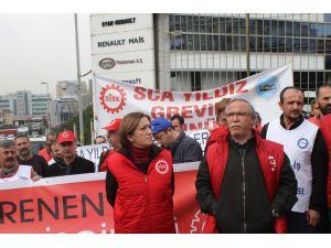 DİSK'ten Renault eylemi