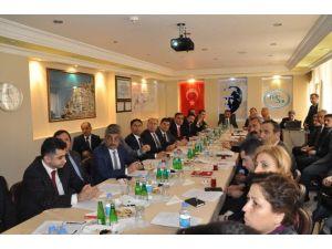 Tunceli'de İl Su Yönetimi Koordinasyon Kurulu Toplantısı Yapıldı