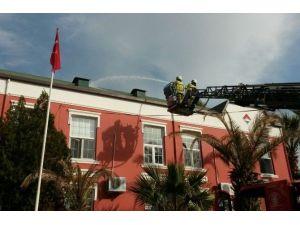 Bahçeşehir'de Yangın Tatbikatı Gerçeğini Aratmadı