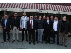 Vali Tuna, Eskişehirspor Taraftarlar Birliği'nin Tribün Liderleri İle Buluştu