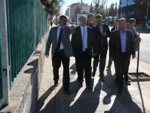 Şanlıurfa'da Katı Atık Bertaraf Tesisi İncelendi