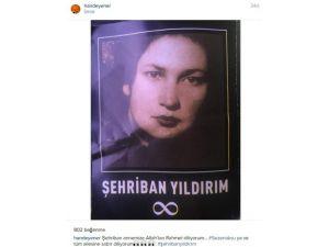 Hande Yener'den Sezen Aksu'ya Başsağlığı