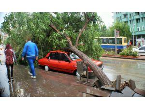 Kırşehir için kuvvetli yağış ve rüzgar uyarısı