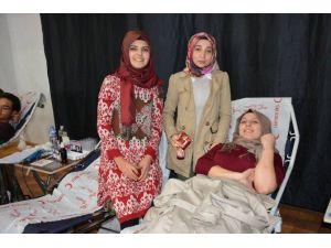 Alaplı MYO'da Kan Bağışına Yoğun