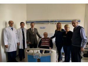 Başkan Ataç, Önder Baloğlu'nu Ziyaret Etti