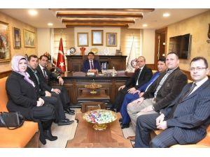Yeşilay'dan Başkan Çelik'e Ziyaret