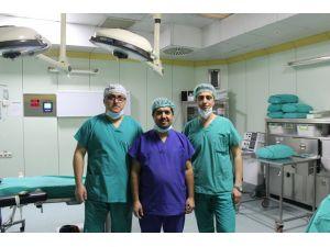 Mikroperkütan cihazıyla ameliyat Kütahya'da ilk defa yapıldı