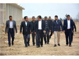 Belediye Başkanı Sanayi Sitesinin Son Halini İnceledi