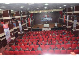 Eğitim Bir-sen Atasoy Müftüoğlu'nu Okurlarıyla Buluşturdu