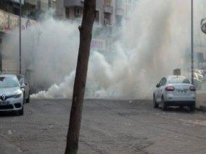 Sur'a Yürümek İsteyen Gruplara Polis Müdahalesi
