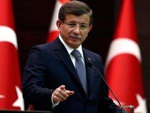 """Başbakan Davutoğlu'ndan, Meclis Başkanı Kahraman'a """"Anayasa"""" Mektubu"""