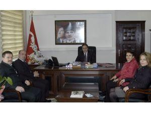 Kızılay Yönetiminden Malkara Kaymakamı Osman Altın'a Ziyaret