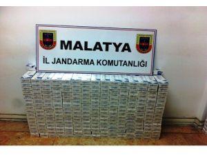 Malatya'da Kaçak Sigara Ve Esrar Operasyonları