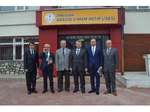 AK Partili Vekillerden İmam Hatip Lisesine Ziyaret